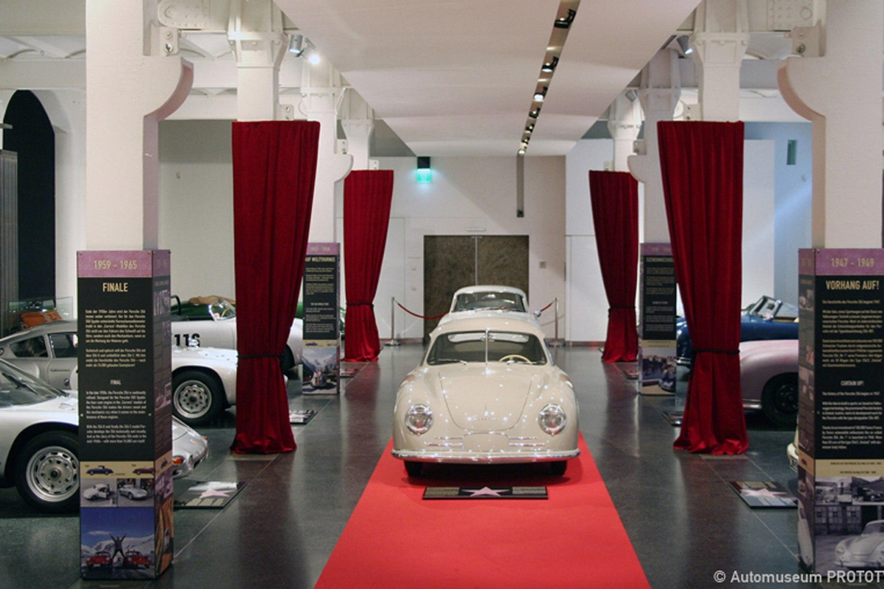 356 vip very important porsches ausstellung museen familie kind automuseum prototyp. Black Bedroom Furniture Sets. Home Design Ideas